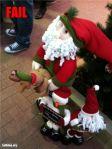 """Que """"safadeenho"""" esse Papai Noel."""